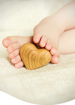 voetjes op hout